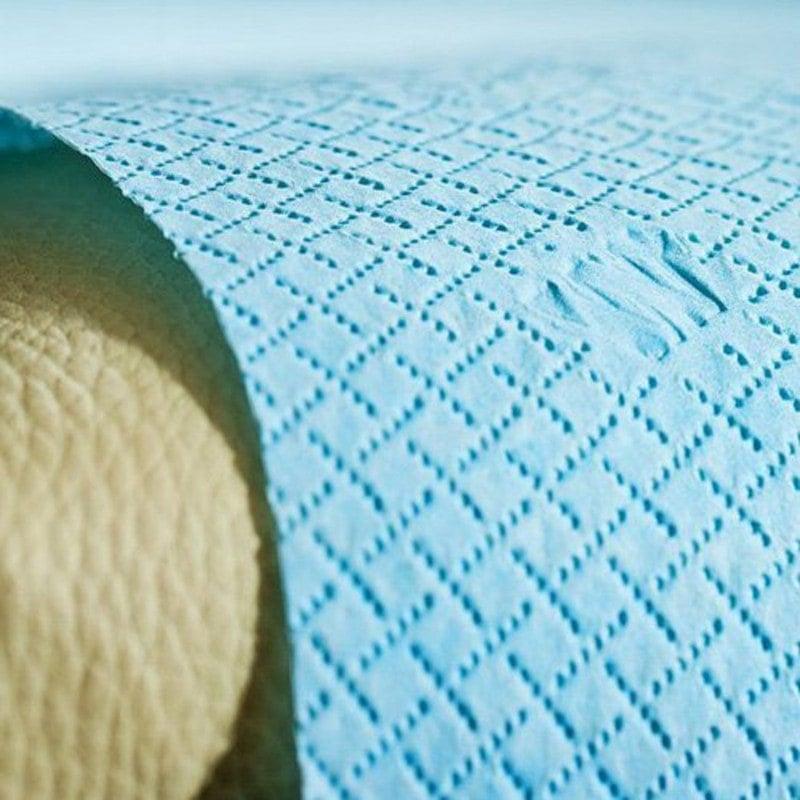 Perforationsnähte mit Markierungen versehen