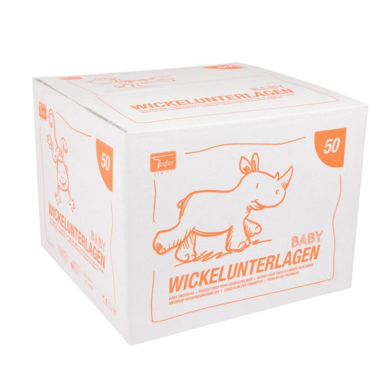 La entrega se efectúa en una caja de cartón de 50 unidades.
