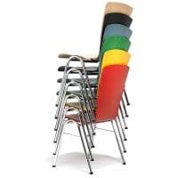 Sedia colorate per sala d'attesa