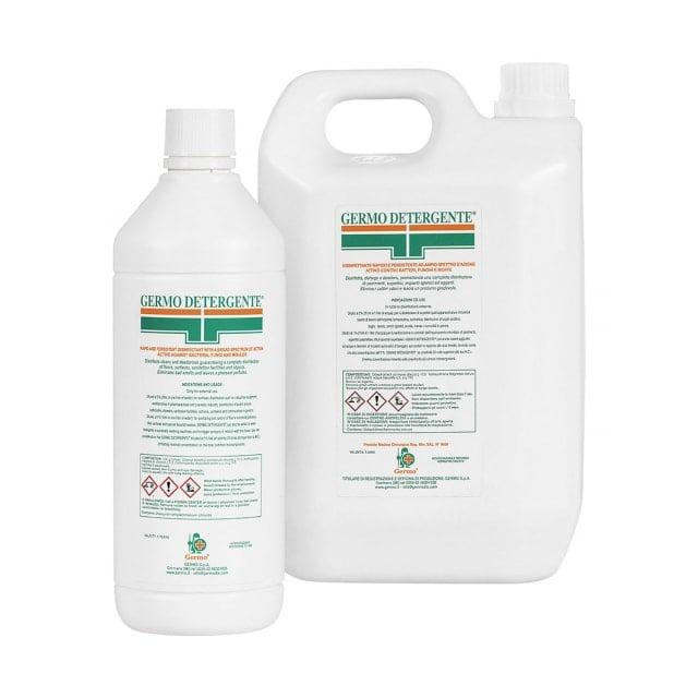 Germo Detergente - Disinfettante per ambienti