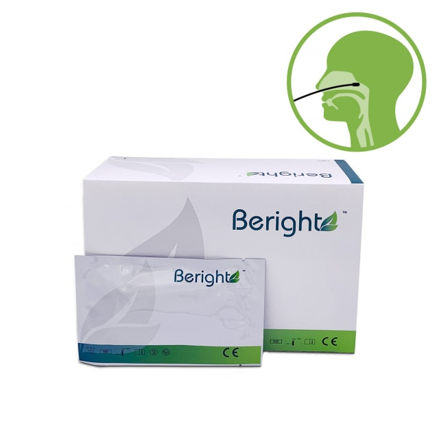 Beright COVID-19 antigeen- en influenza-combinatietest