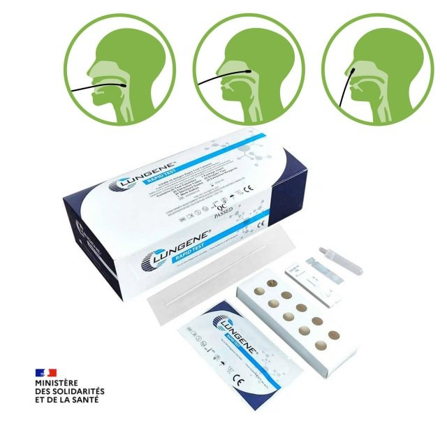 CLUNGENE Covid-19 Antigen Rapid Test