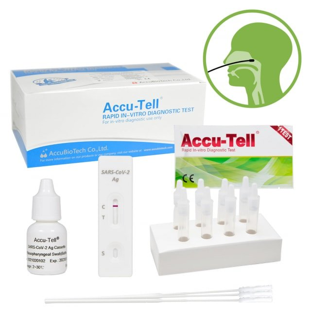 ACCU-TELL® SARS-CoV-2 Antigen Rapid Test