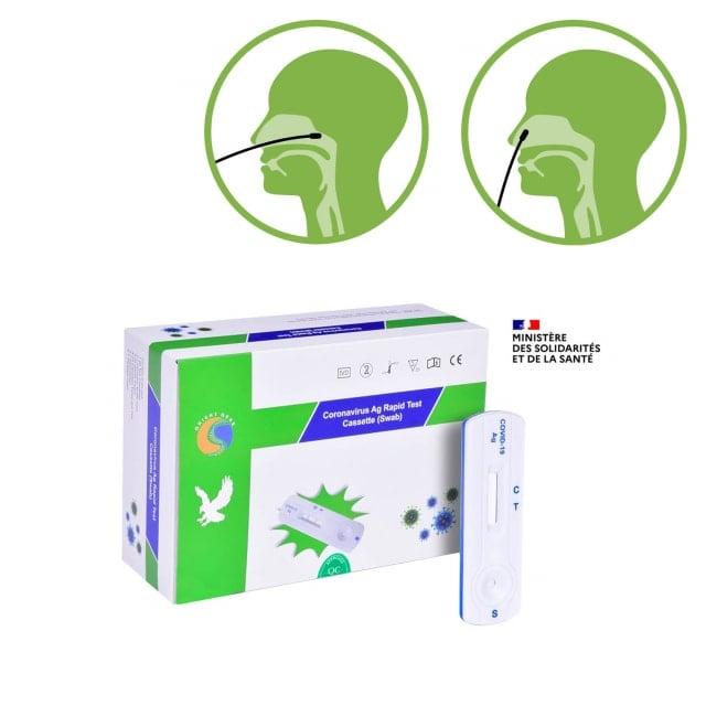 Test antigène Orient Gene SARS-CoV-2 (nasal/nasopharyngien)