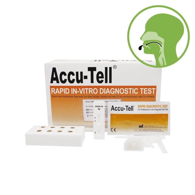 Accu-Tell Covid-19 Antigen Saliva Test