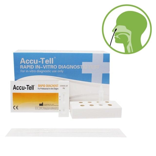 Test antigène nasal Accu-Tell SARS-CoV-2