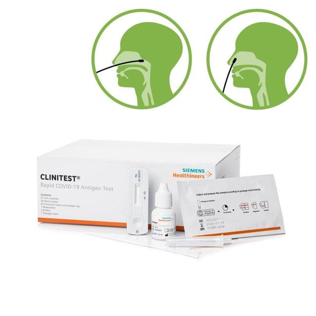 Siemens Clinitest Rapid COVID-19 Antigen Test