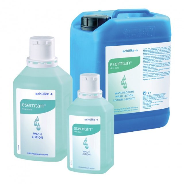 Esemtan, lotion de lavage