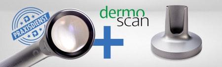 ¡Obtenga el set completo con la lupa dermatológica Illuco a un precio especial!