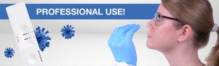 Test de antígeno COVID-19 para profesionales
