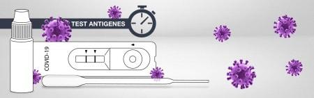 Comparaison des tests de l'antigène Covid-19
