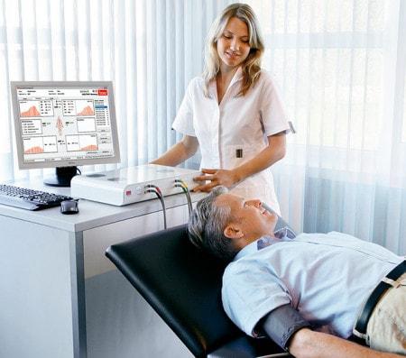 Système ABI pour déterminer l'indice brachial à la cheville