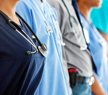 Vêtements de travail en médecine