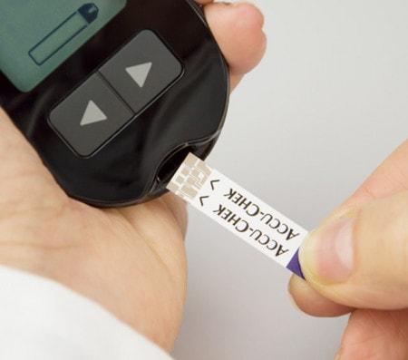 Blutzuckerteststreifen für Blutzuckermessgeräte