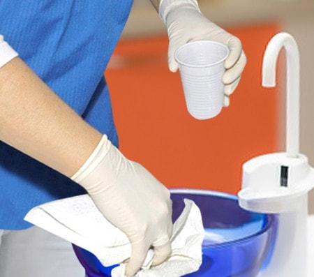 Desinfektion für Absauganlagen
