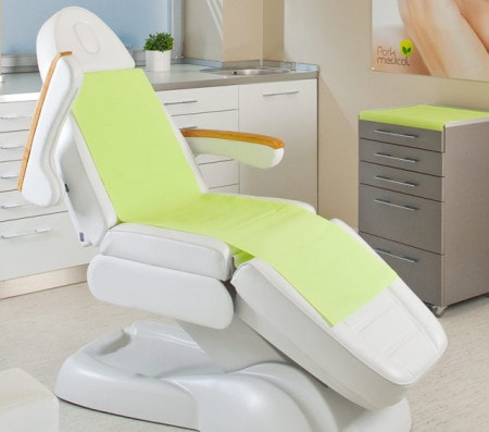Treatment Covers Headrest And Tray Paper For The Dentist