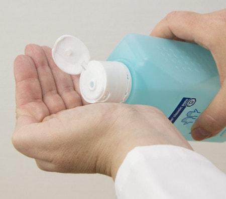 Desinfektion für Hände
