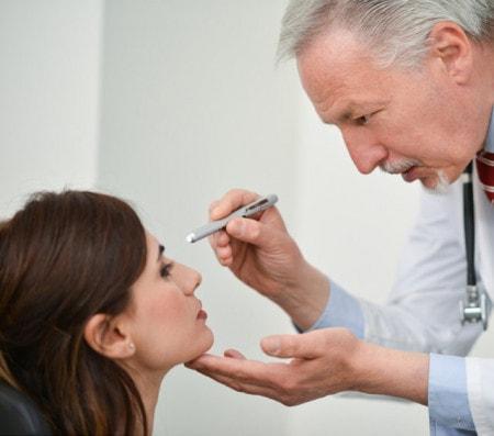 Diagnostiklampen für medizinische Untersuchungen