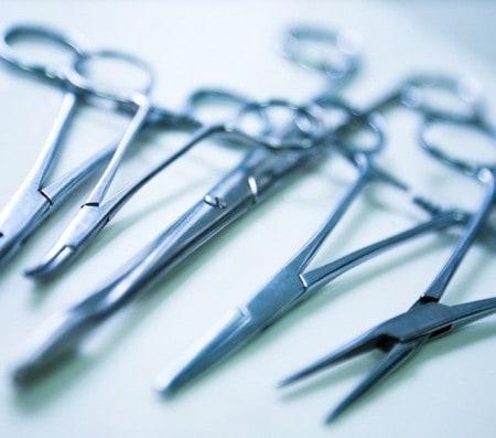Instruments pour la médecine vétérinaire
