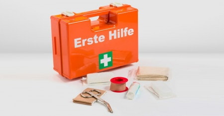 First Aid Kits for Workplaces, Schools & Leisure Time