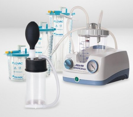 Secretion Aspirators and Aspirators