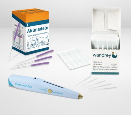 Aghi per agopuntura e accessori