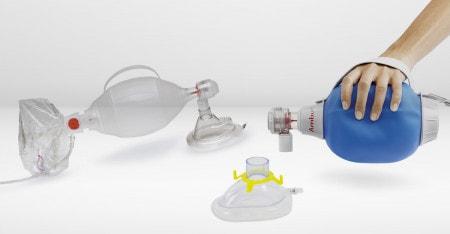 Palloni e maschere di ventilazione