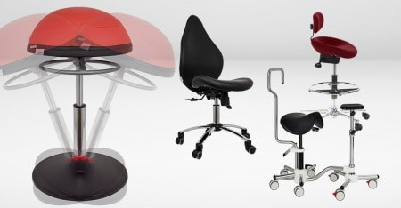 Swivel Stools for the Practice, Lab & Hospital