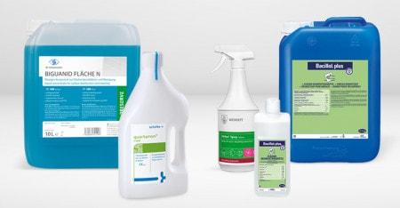 Désinfectants de surfaces