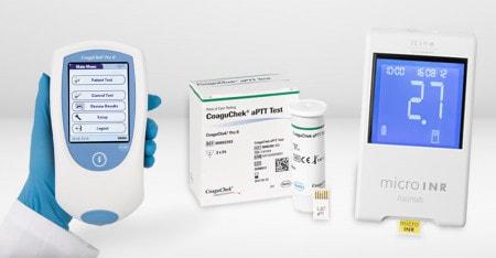 Coagulomètres pour mesurer la coagulation sanguine