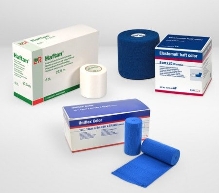 Gauze Bandages and Crepe Bandages for Injuries