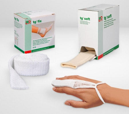 Tubular Bandages for Securing Wraps and Dressings