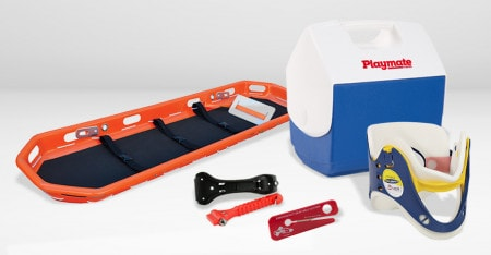 Rescue Equipment for Rescue & Transport of Injured Persons
