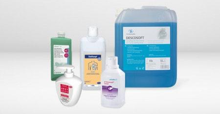 Lotion de nettoyage et savon