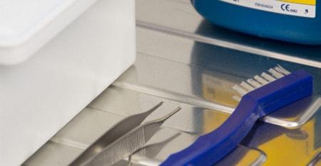 Instrumentenpflege für medizinische Instrumente