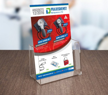 File Card Holders & Brochure Stands for the Surgery and Hospital