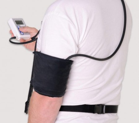 24 Hour Blood Pressure Monitor for Long-Term Blood Pressure Measurement