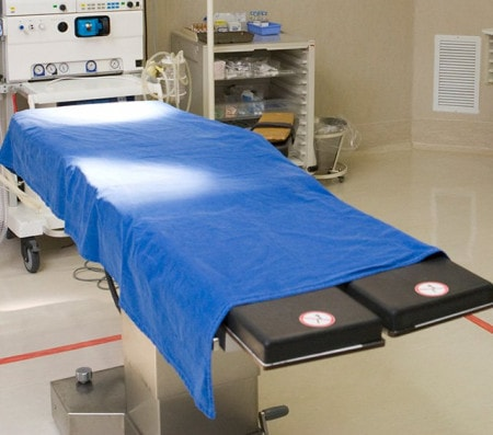 Table d'opération