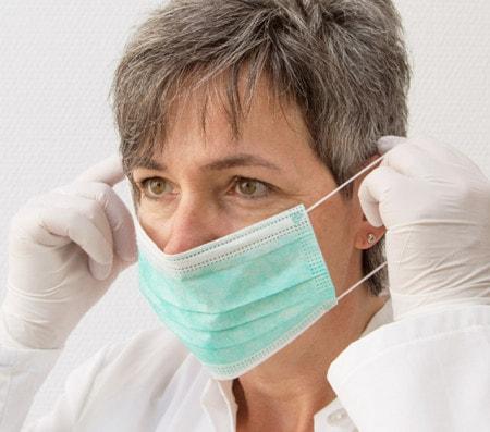 Masque médical pour visage