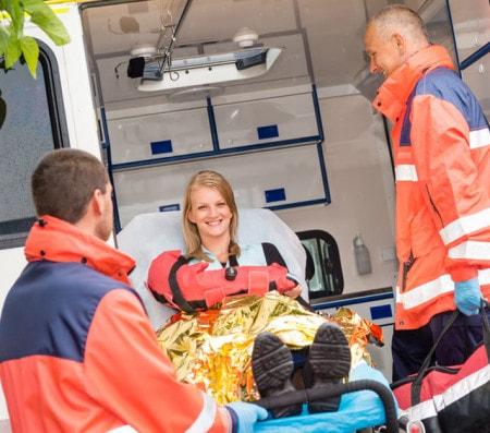 Matériel de secours et des fournitures d'urgence
