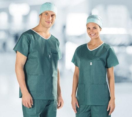 Toute la gamme de vêtements chirurgicaux