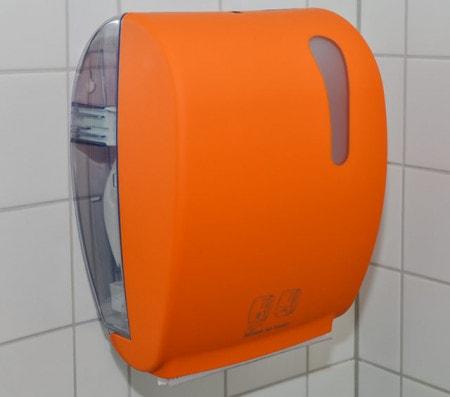 Distributeur de serviettes en papier pour cabinet, laboratoire et hôpital