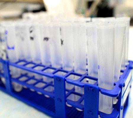 Reagenzglasständer für verschiedene Reagenzgläser