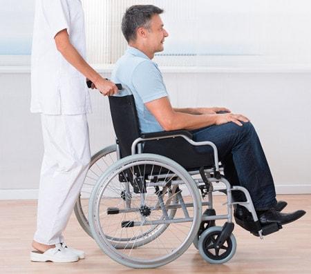Rollstühle für den Patiententransport