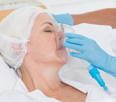Sauerstofftherapie-Bedarf