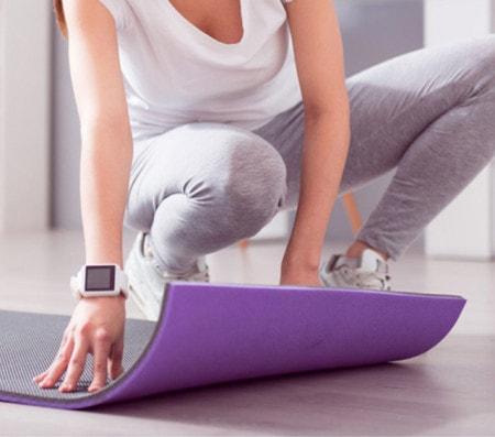 Trainingsmatten für Gymnastik, Sport und Therapie