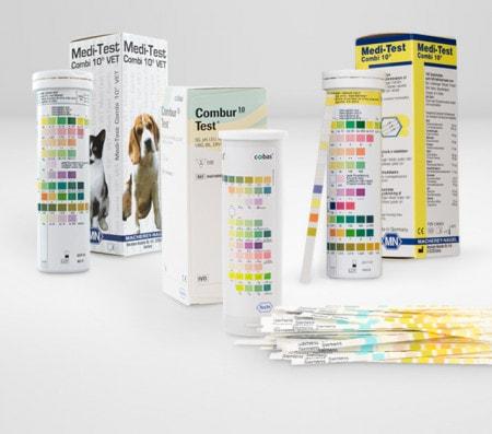 Harnteststreifen für die Tiermedizin