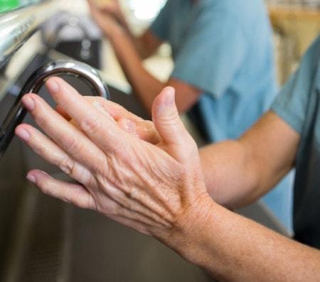 Hygiene in der Tierarztpraxis