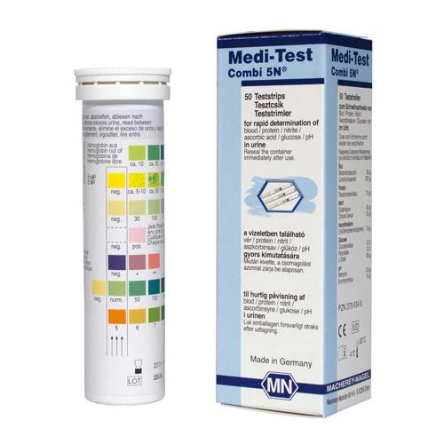 protein i urinen test