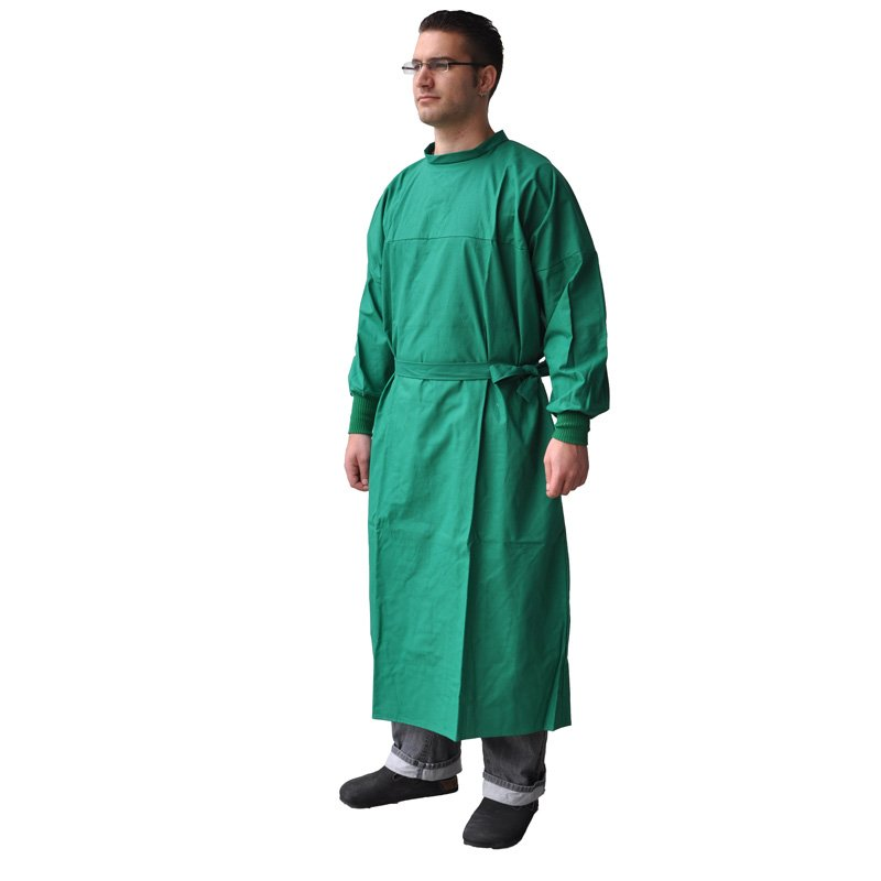 Long Surgical Gown   Buy Online from Praxisdienst